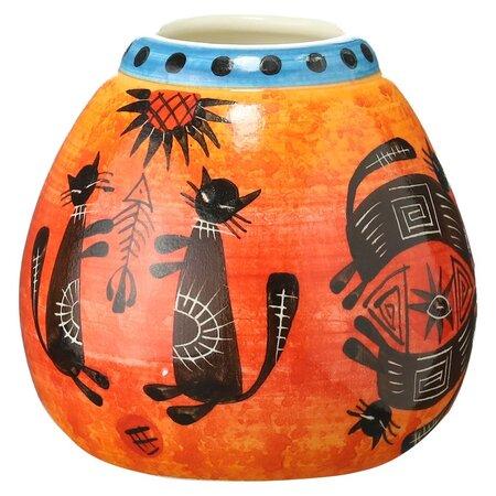 Калабас котики, керамика, 250мл