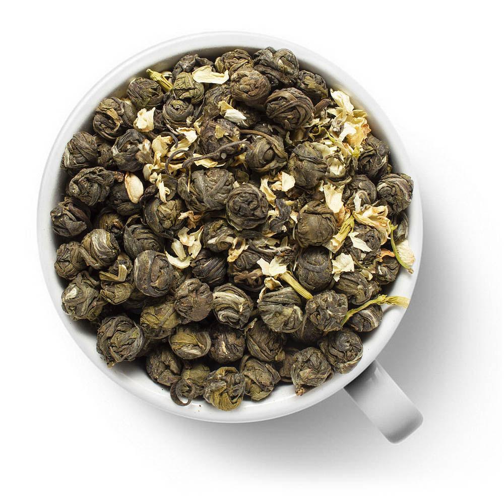 Зеленый чай Хуа Лун Чжу (Жасминовая Жемчужина Дракона)