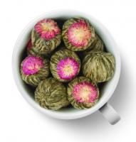 Чай связанный Моли Юй Лун Тао (Жасминовый персик Дракона) №2