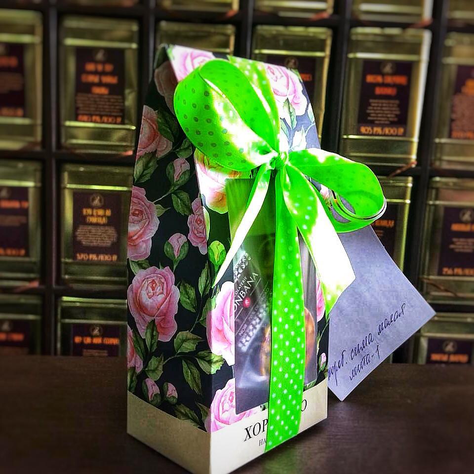 Чайный подарок Розочка