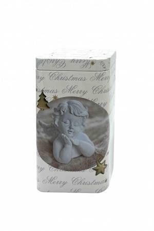 Банка для хранения чая Рождественский ангел, 50 г