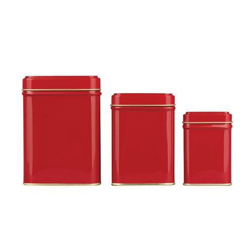 Банка для хранения чая Коста красная, 25 г