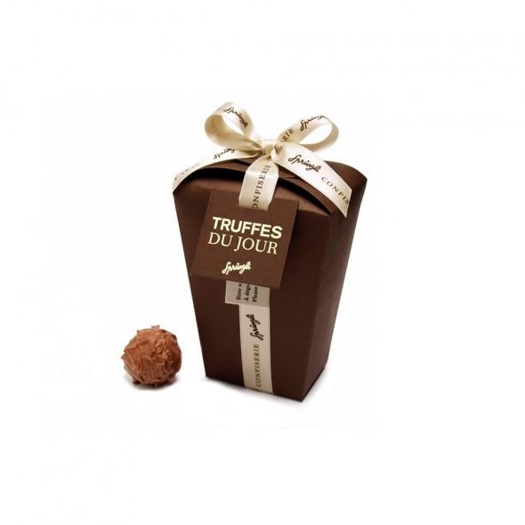 Шоколадные конфеты трюфели Truffes du Jour milk SPRUNGLI