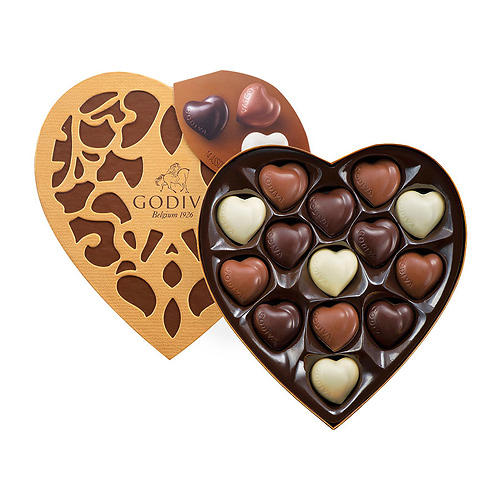 Шоколадные конфеты Godiva Coeur Iconique 14шт GODIVA