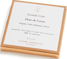 Шоколад плиточный, темный Fleur de cacao tablet PIERRE MARCOLINI, 70гр