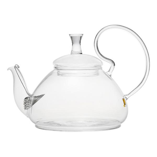 Стеклянный заварочный чайник Георгин, 670 мл