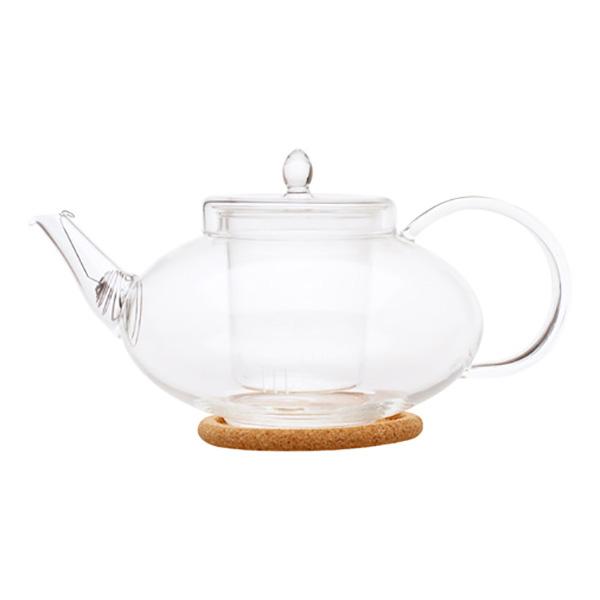 """Стеклянный заварочный чайник """"Душистая лилия"""", 1000 мл"""