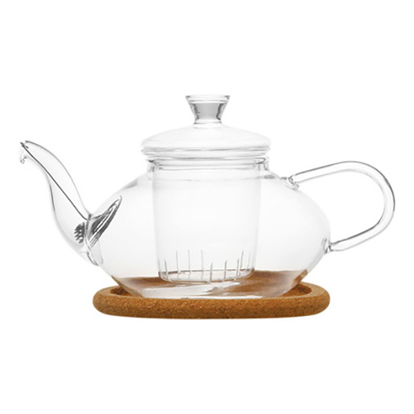 """Стеклянный заварочный чайник """"Жасмин"""", 500 мл"""