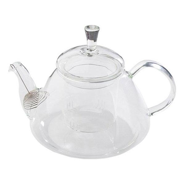 """Стеклянный заварочный чайник """"Колокольчик"""", 1100 мл"""