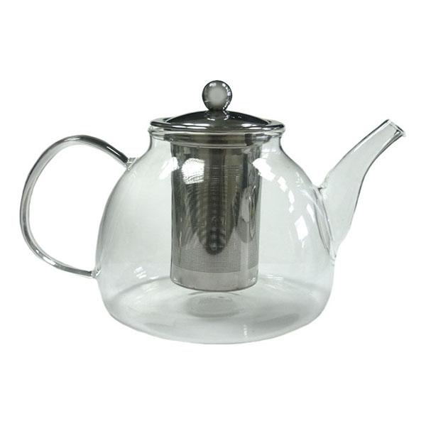 Стеклянный заварочный чайник Мальва, 1200 мл