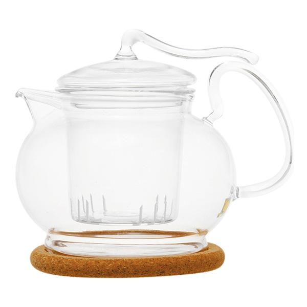"""Стеклянный заварочный чайник """"Эдельвейс"""", 600 мл"""