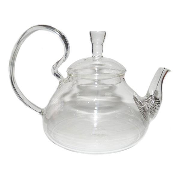 """Стеклянный заварочный чайник """"Бегония"""", 600 мл"""