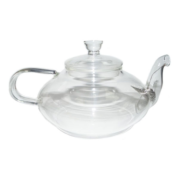 Стеклянный заварочный чайник Фрезия, 600 мл