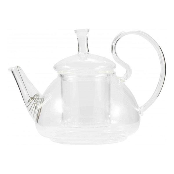 """Стеклянный заварочный чайник """"Ромашка"""", 600 мл"""