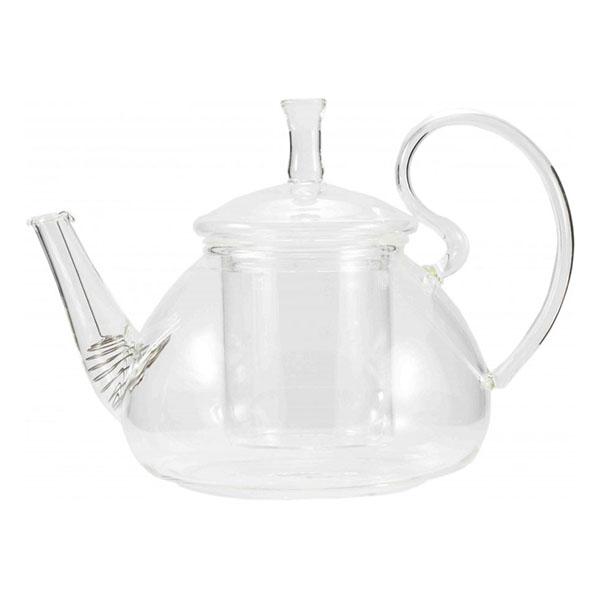 Стеклянный заварочный чайник Ромашка, 800 мл