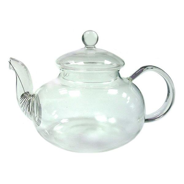 """Стеклянный заварочный чайник """"Юнона"""", 600 мл"""