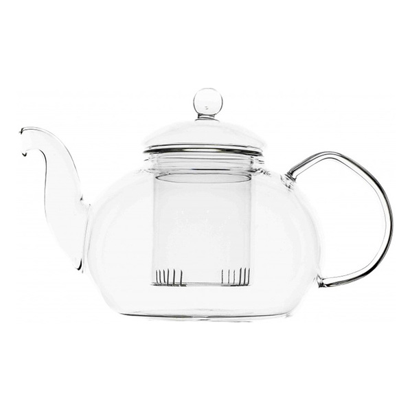 Стеклянный заварочный чайник Ирис, 1500 мл
