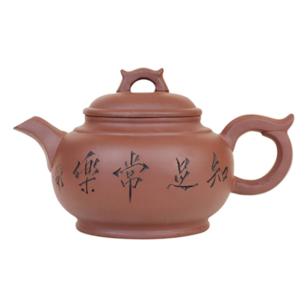 Глиняный чайник Цветы сливы, 600 мл
