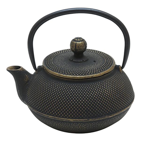 Чугунный чайник Золотистая черепаха, 600 мл
