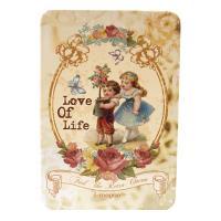 Банка для хранения чая подарочная Love of Life, 95х65х28 мм