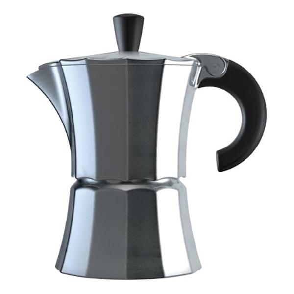 Гейзерная кофеварка Morosina алюминиевая, 300 мл (на 6 чашек)