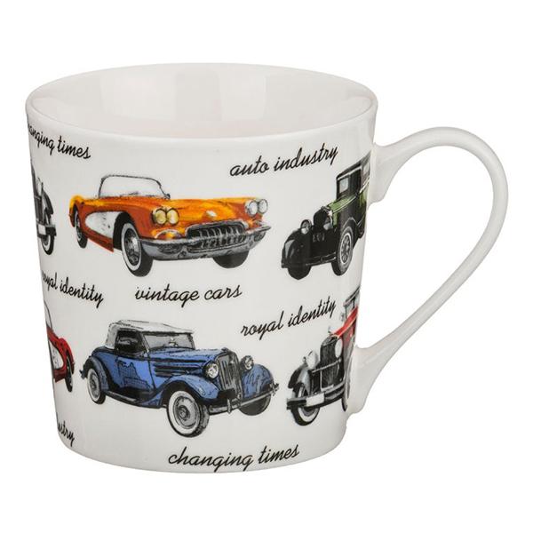 Кружка Ретро-автомобили, 350 мл