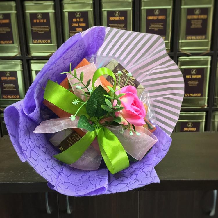Чайный кофейный букет Очаровашка
