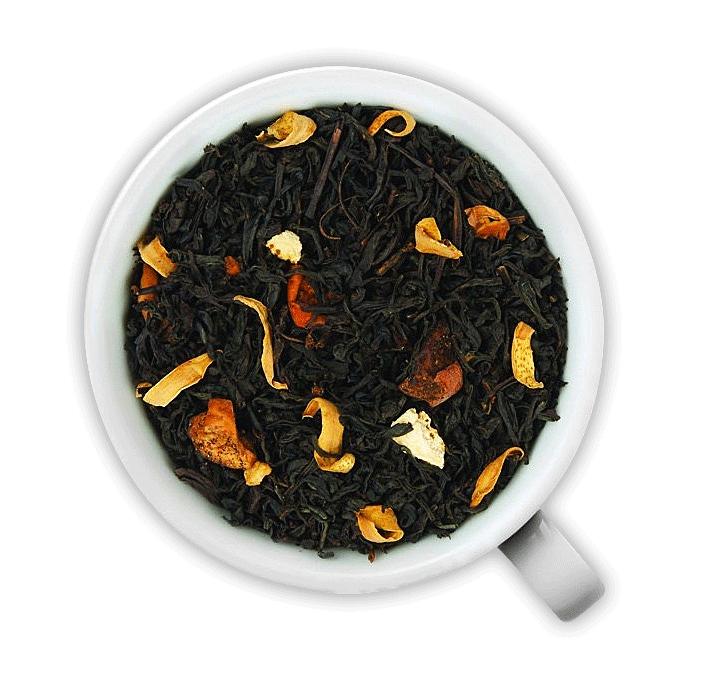 Черный чай Золотые Яблочки