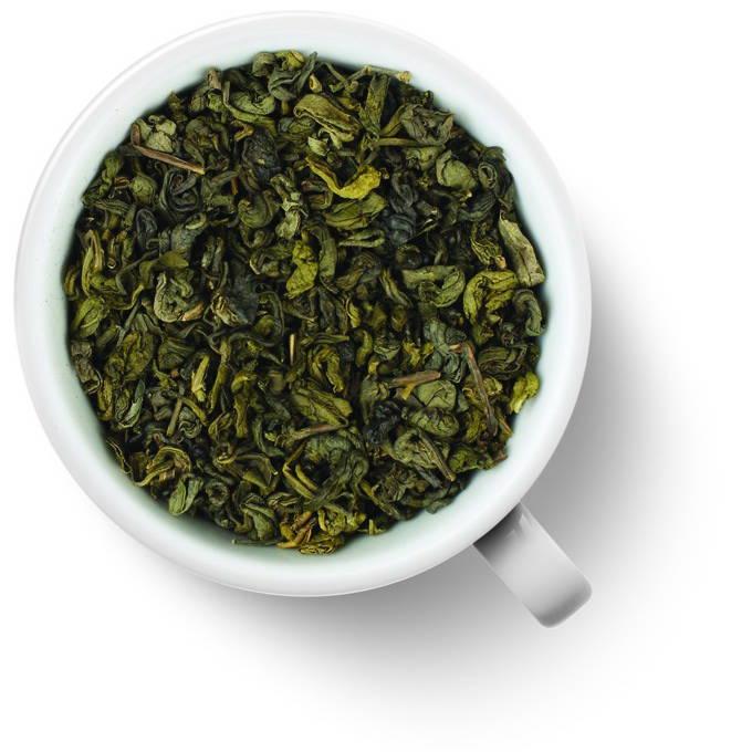Чай зеленый Ганпаудер с мятой
