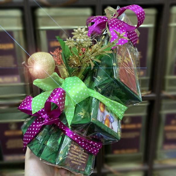 """Подарок чайная """"Новогодняя Елочка"""""""