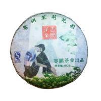 Пуэр Бин Ча с жасмином, лепешка 100 гр.