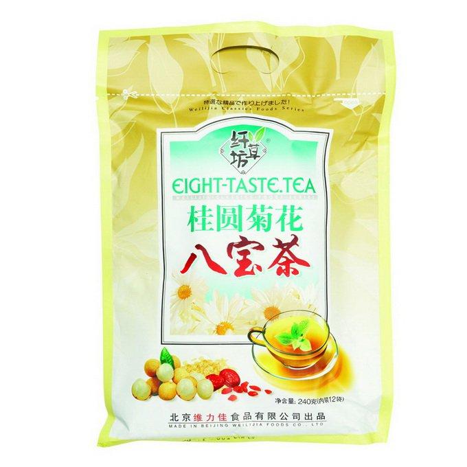 Чай зеленый Ба Бао Ча (Восемь сокровищ) с корицей, 240г