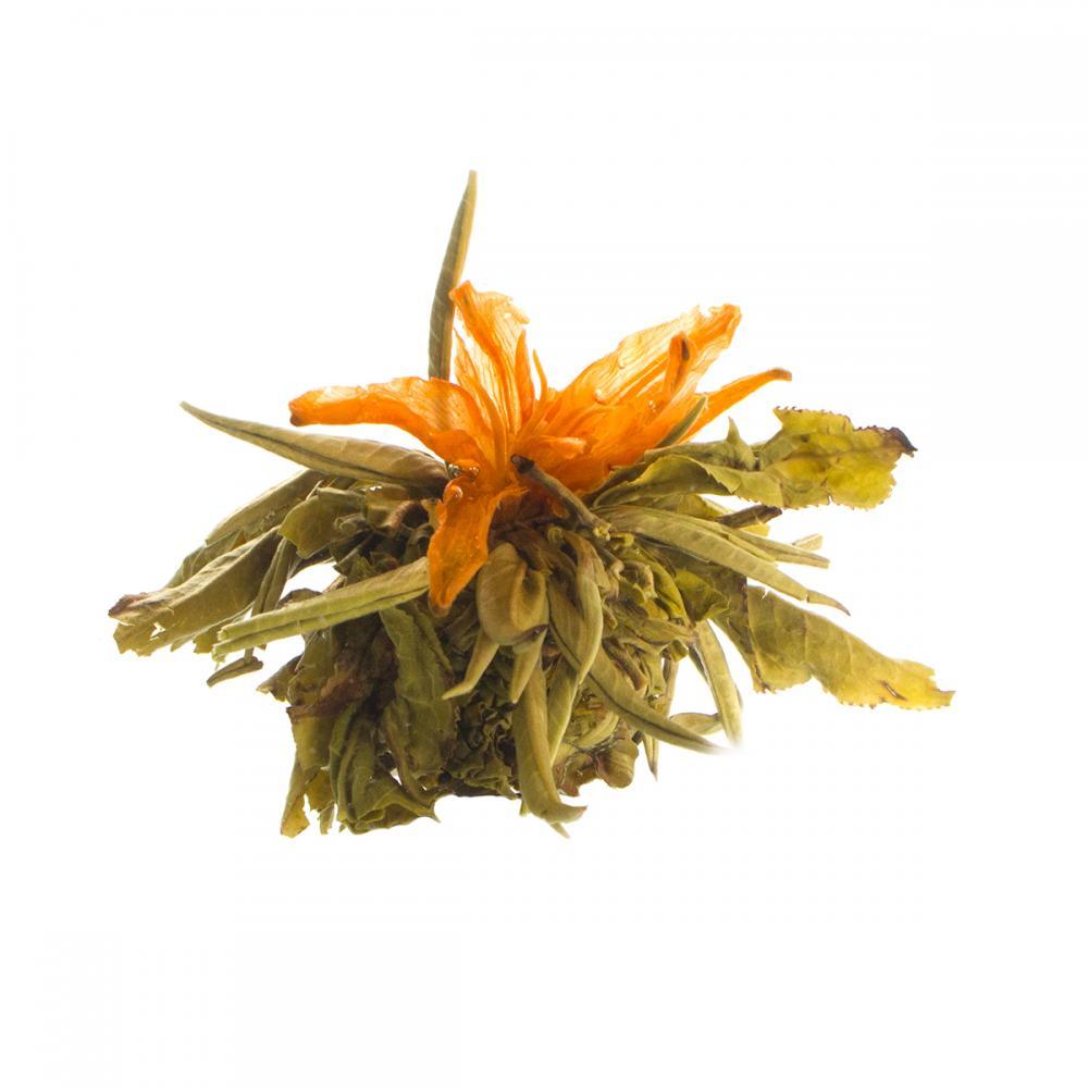 Связанный чай Бай Юй Лянь (Белый лотос благоденствия)