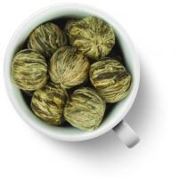 Связанный чай Люй Ли Чжи (Зеленый Ли Чжи)