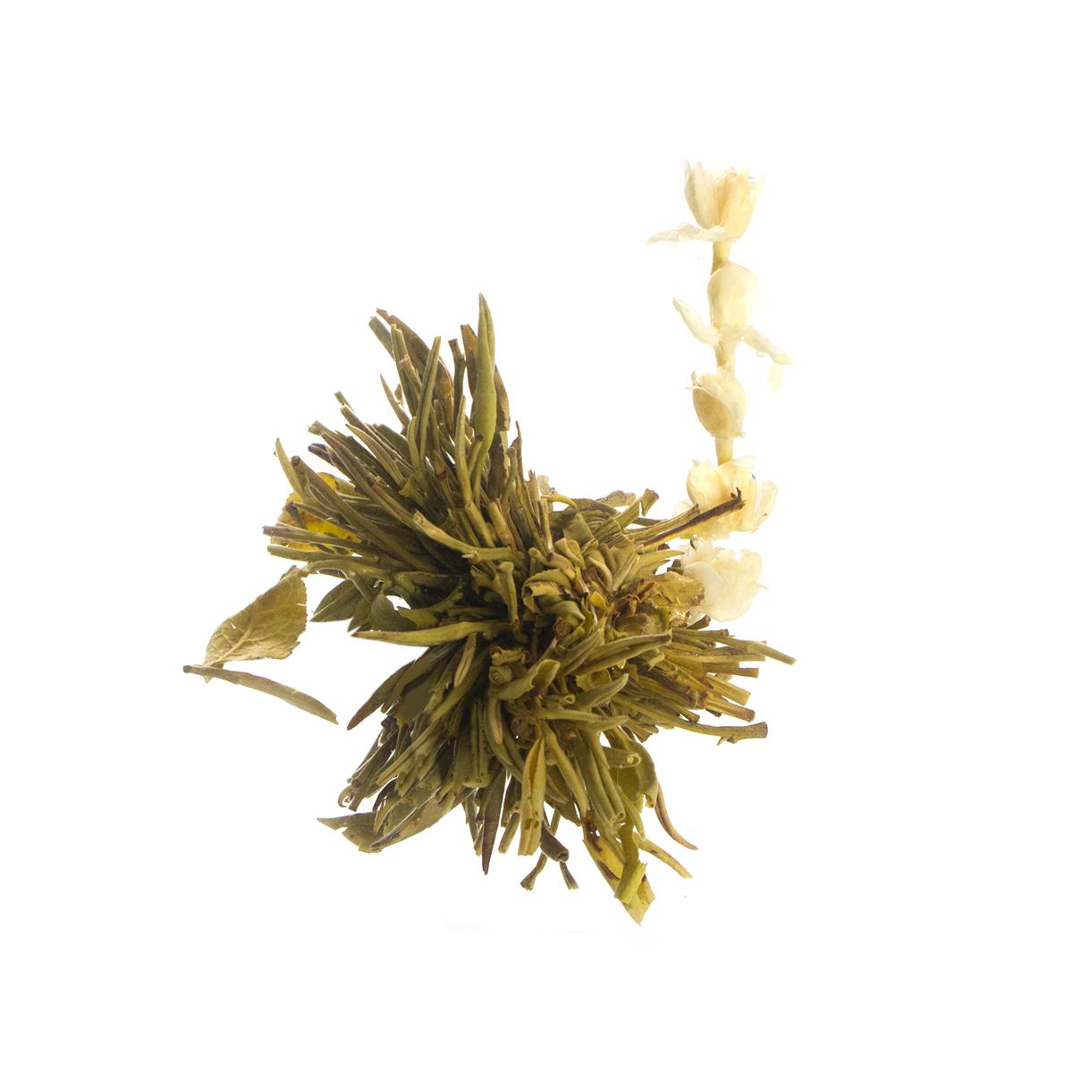 Связанный чай Хай Бэй Ту Чжу (Рождение жемчужины)