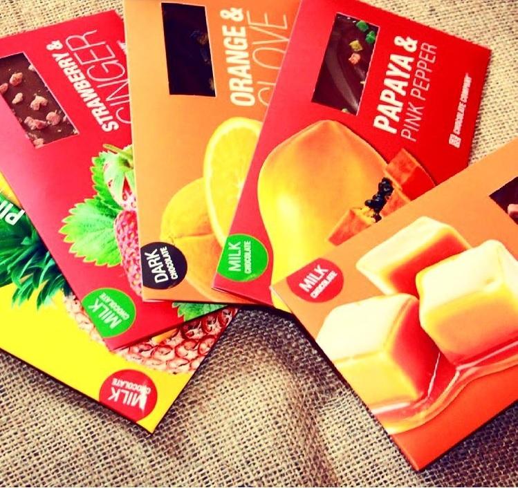 Шоколад горький апельсин и гвоздика CHCO, 50гр