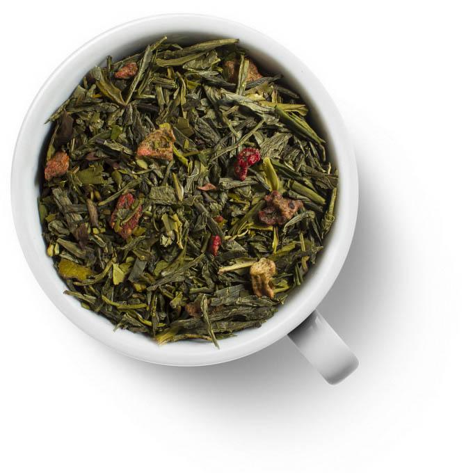 Чай зеленый Земляника со сливками