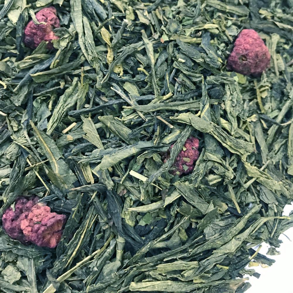Чай зеленый Малина с мятой