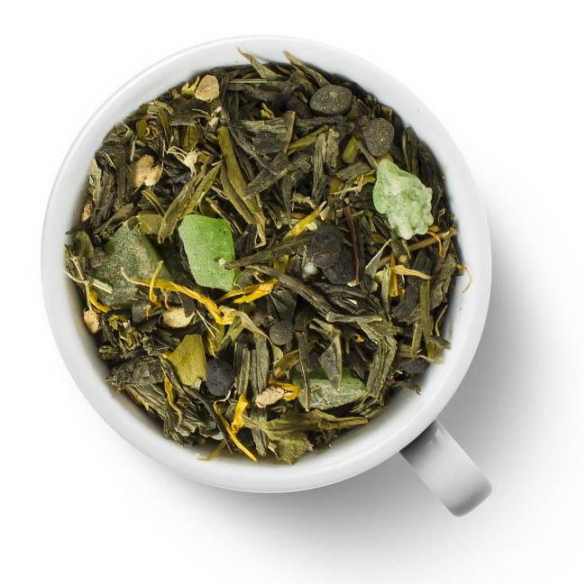 Чай зеленый Лайм и Женьшень