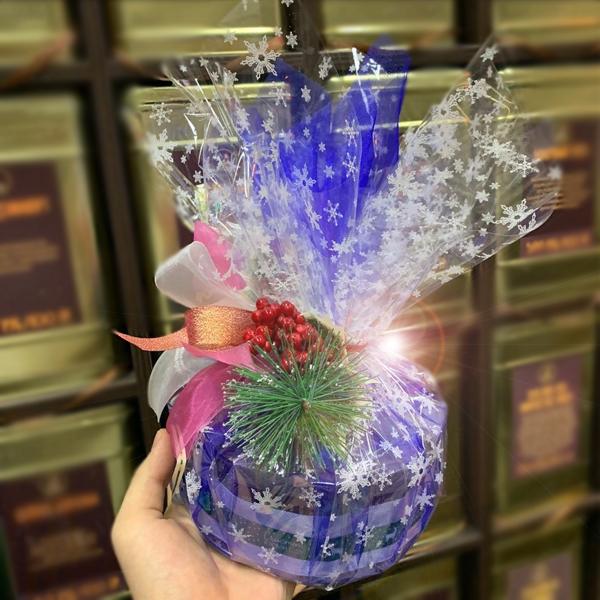 """Подарок новогодний """"Чайный торт"""""""